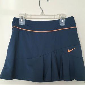 Nike Dri Fit Blue Tennis Skort Small